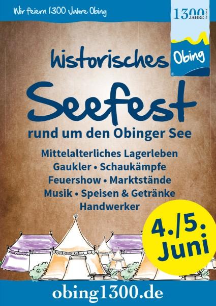 Historisches Seefest Obing 2016