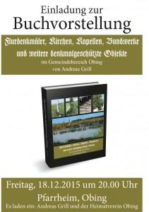 Denkmalbuch-Grill-Plakat